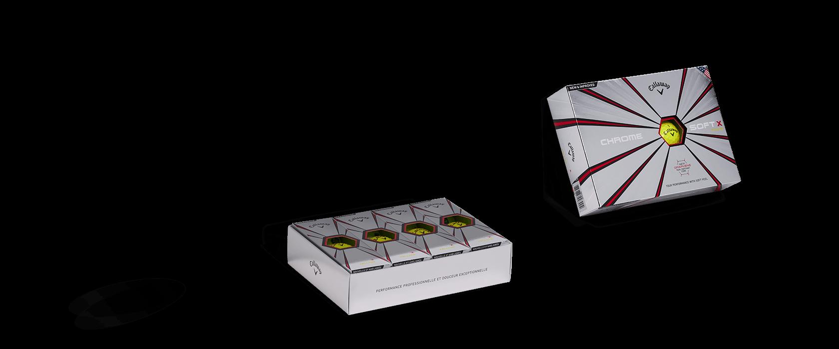 Chrome Soft X Golf Ball Box