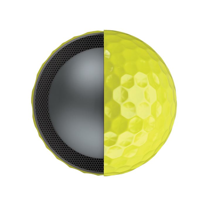 2018 Chrome Soft X Yellow Golf Balls