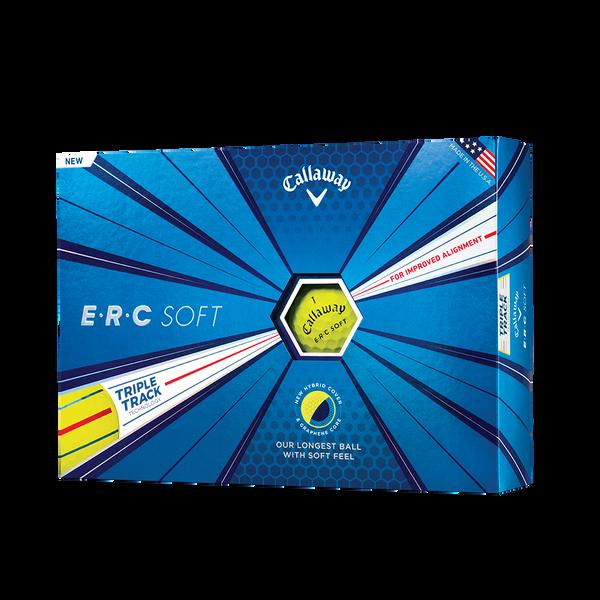 ERC Soft Yellow Golf Balls Technology Item