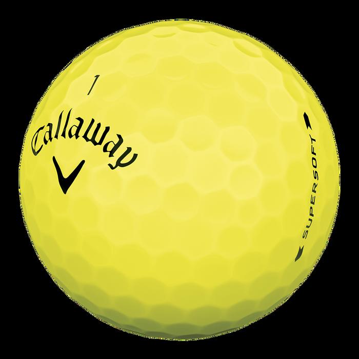 Supersoft Yellow Golf Balls