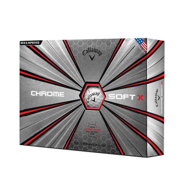2018 Chrome Soft X Golf Balls Technology Item