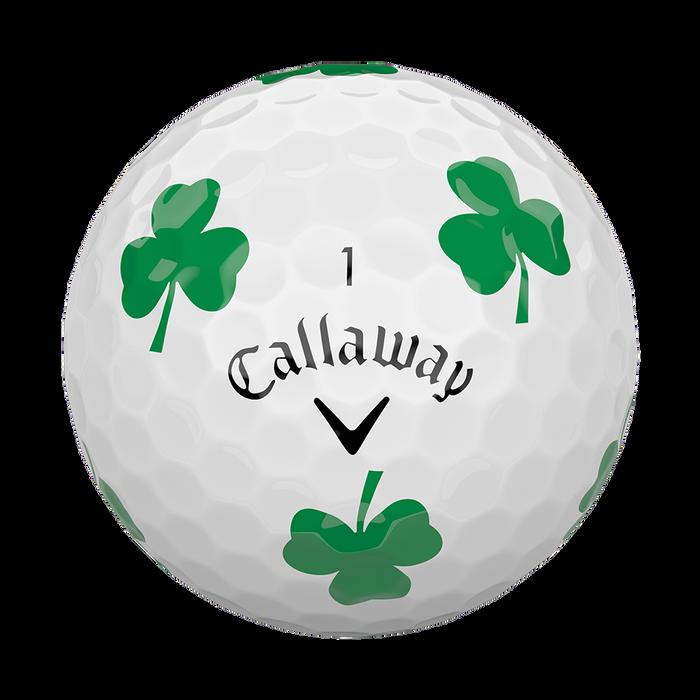 Chrome Soft Shamrock Truvis Golf Balls