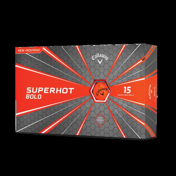 Superhot Bold Matte Orange 15-Pack Golf Balls Technology Item