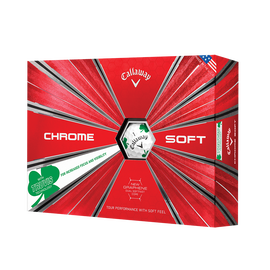 Chrome Soft Shamrock Truvis Golf Balls