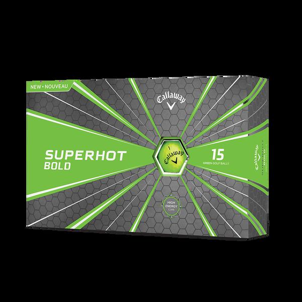 Superhot Bold Matte Green 15-Pack Golf Balls Technology Item