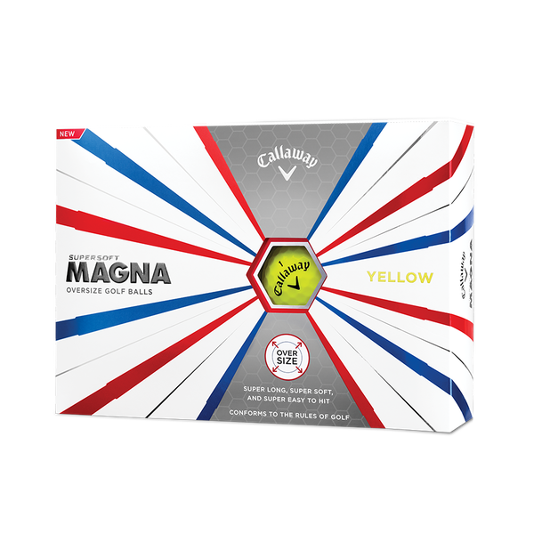 Callaway Supersoft Magna Yellow Golf Balls Technology Item