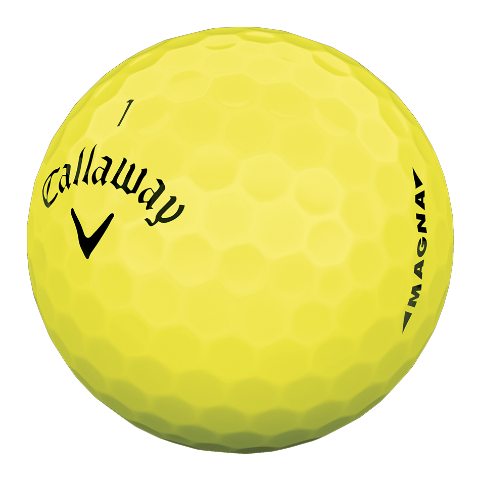 Callaway Supersoft Magna Yellow Golf Balls - View 3