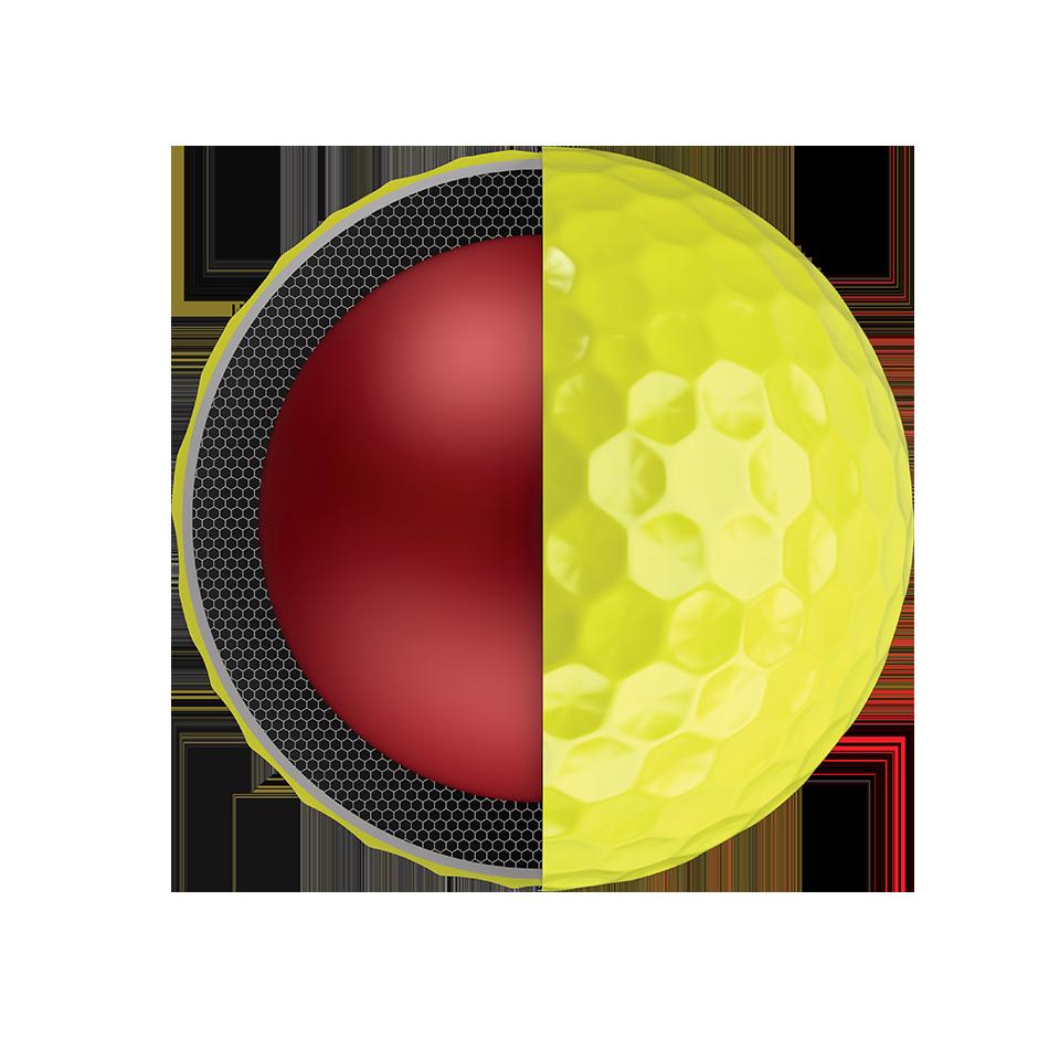 Chrome Soft Yellow 18 Golf Balls - View 3