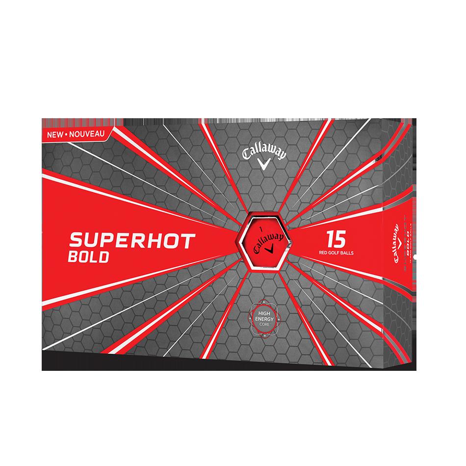 2018 Superhot Bold Matte Red 15-Pack Golf Balls - Featured