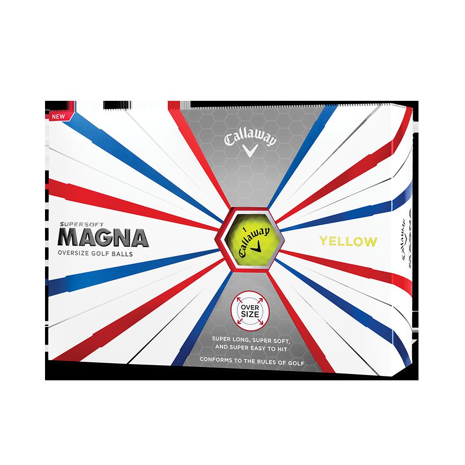 Callaway Supersoft Magna Yellow Golf Balls - Featured