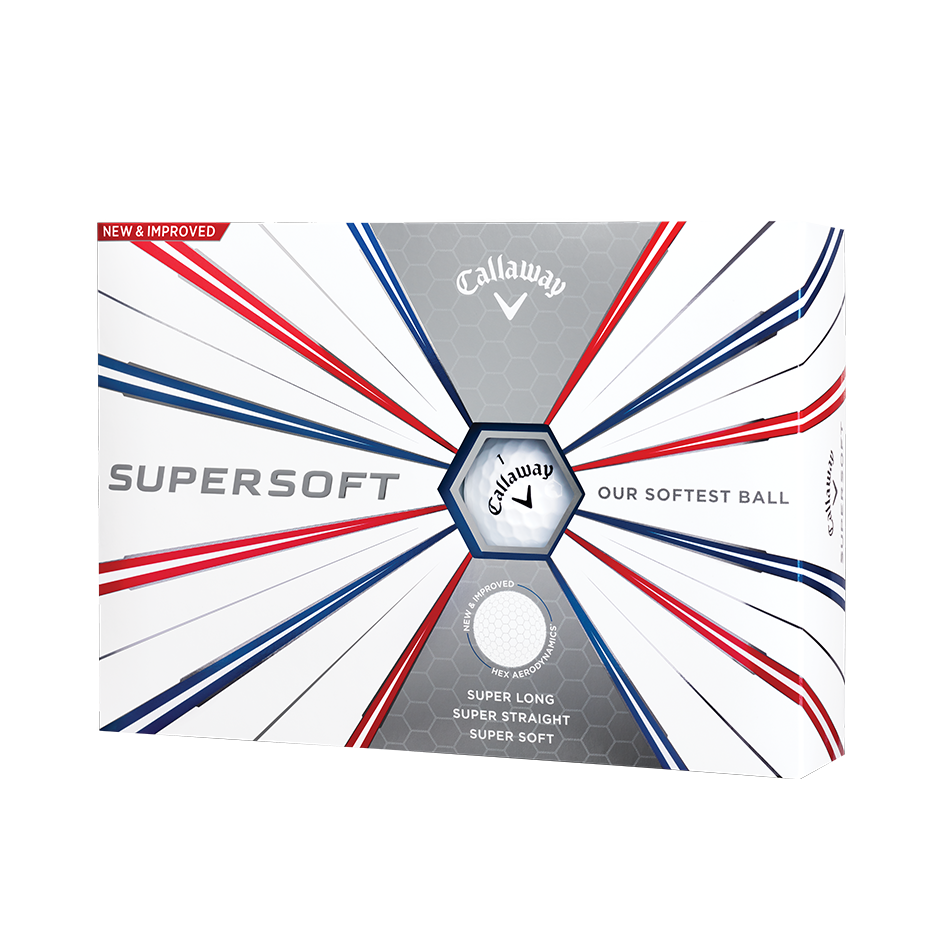 Callaway Supersoft Golf Balls - Featured