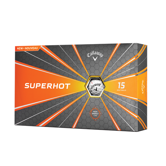 2018 Superhot 15-Pack Golf Balls