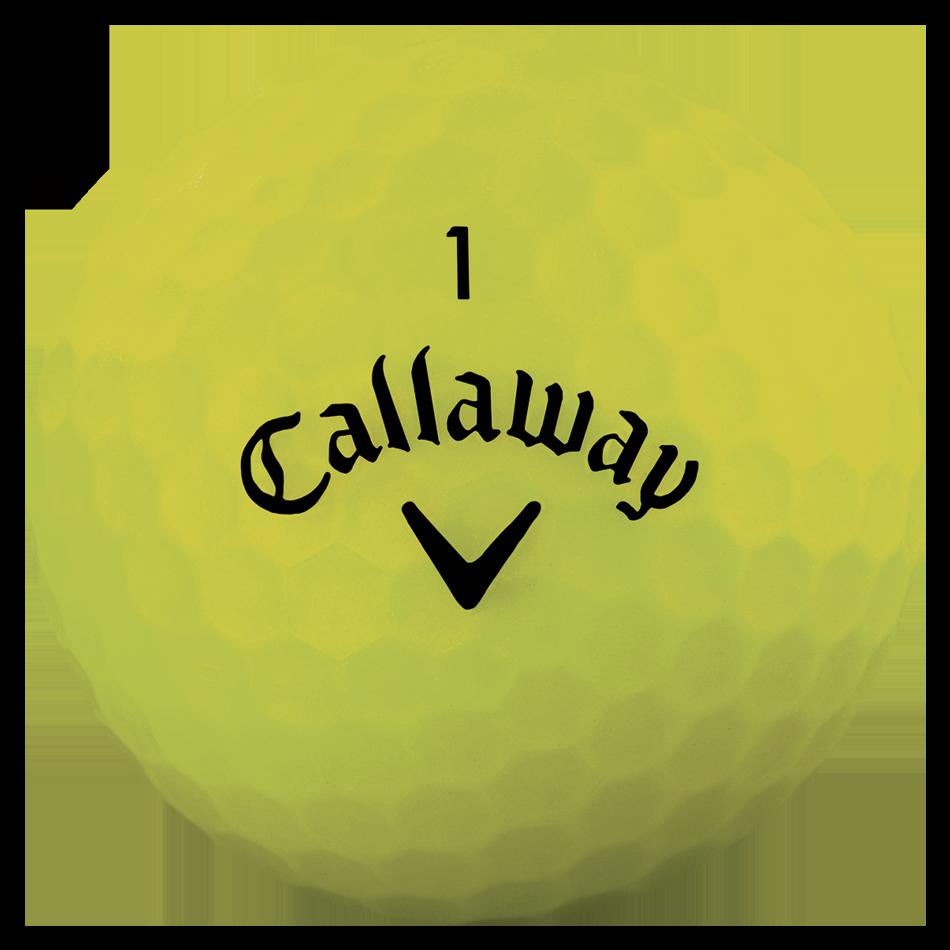 2018 Superhot Bold Matte Yellow 15-Pack Golf Balls - View 3