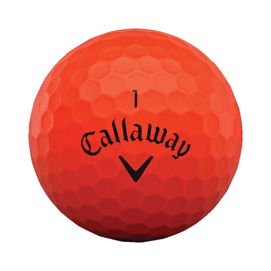 Superhot Bold Matte Red 15-Pack Golf Balls - View 3