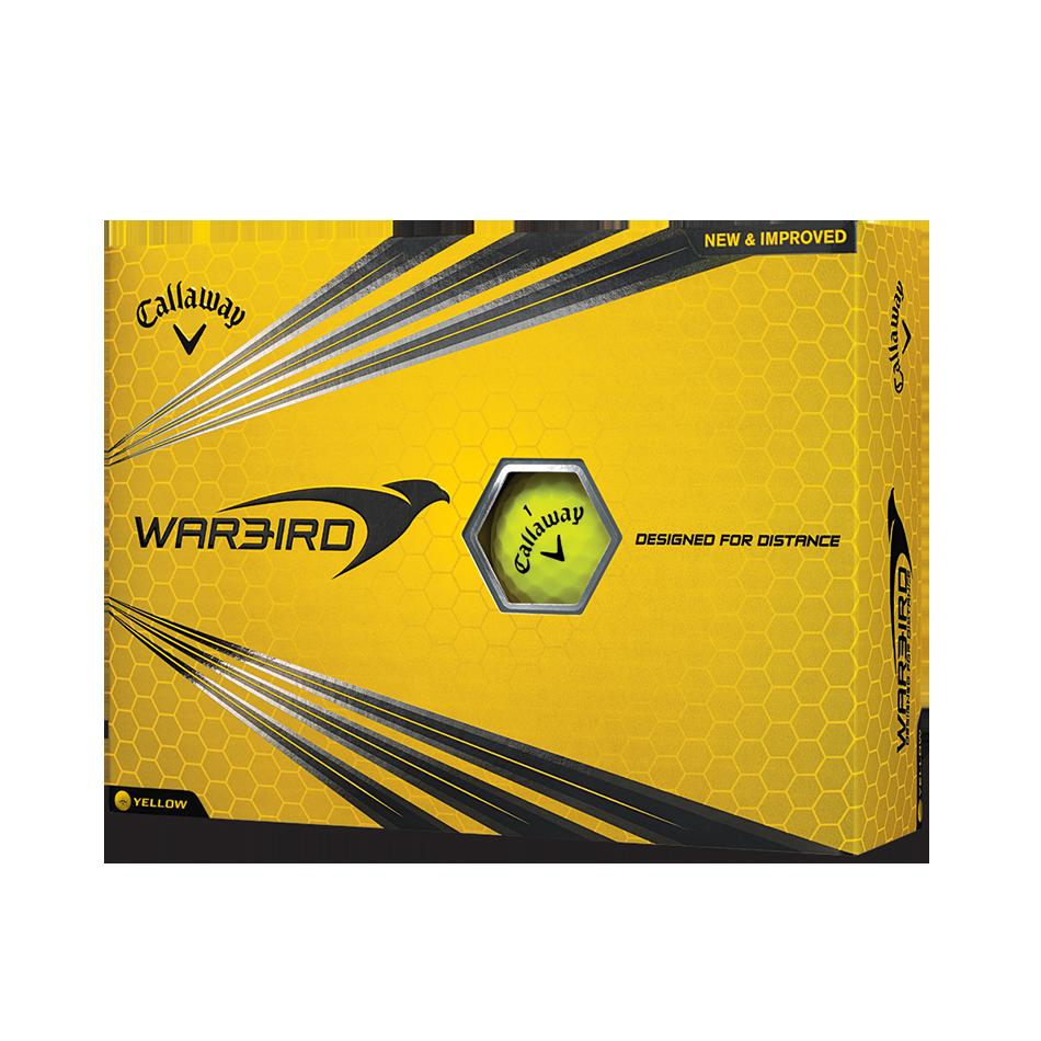 Warbird Yellow Golf Balls - Featured