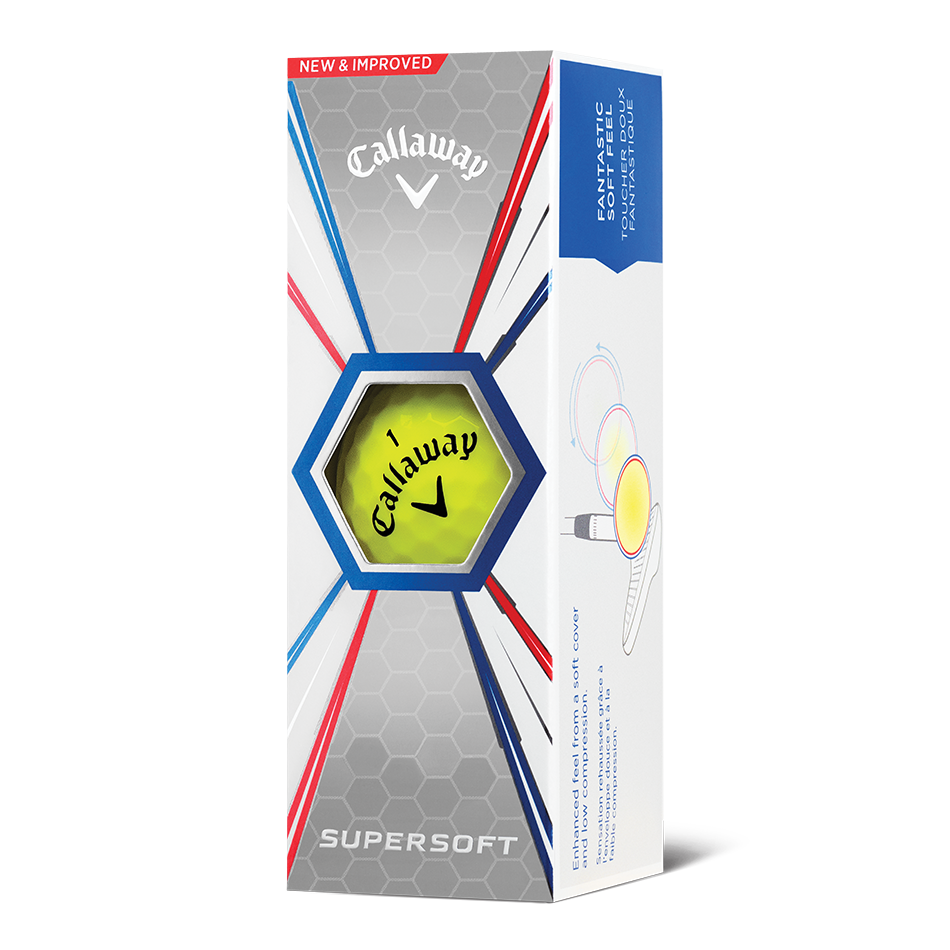 Callaway Supersoft Yellow Golf Balls - View 2