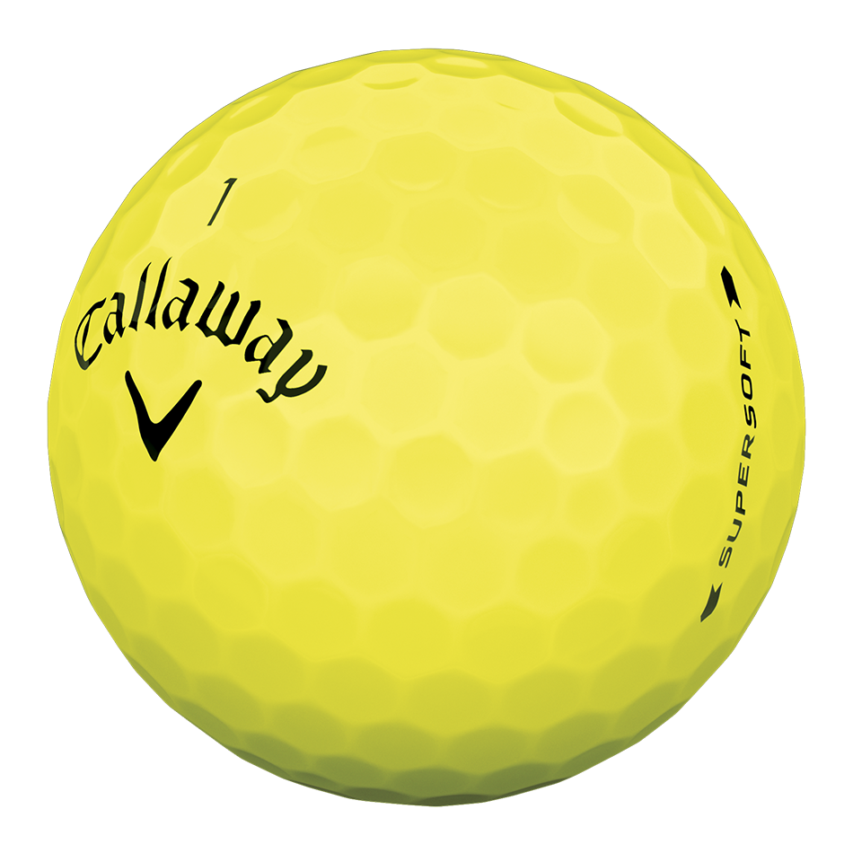 Callaway Supersoft Yellow Golf Balls - View 3