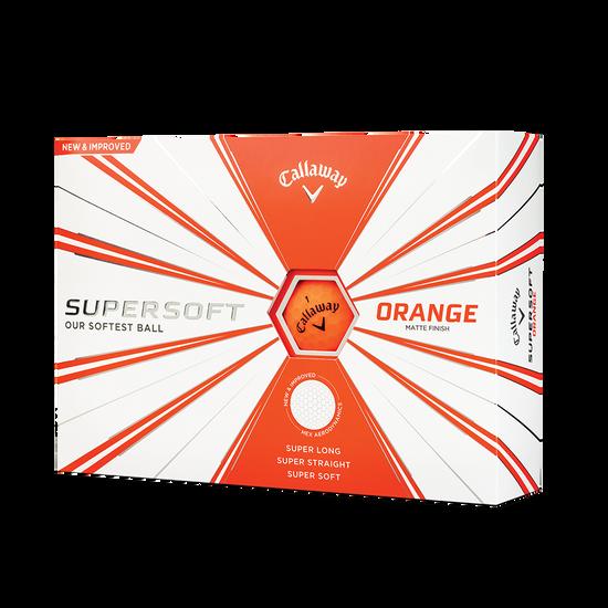 Callaway Supersoft Matte Orange 2019 Golf Balls