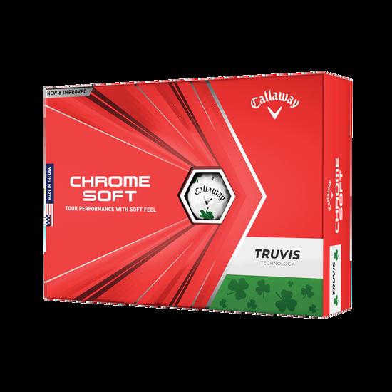 Chrome Soft Truvis Shamrock Golf Balls