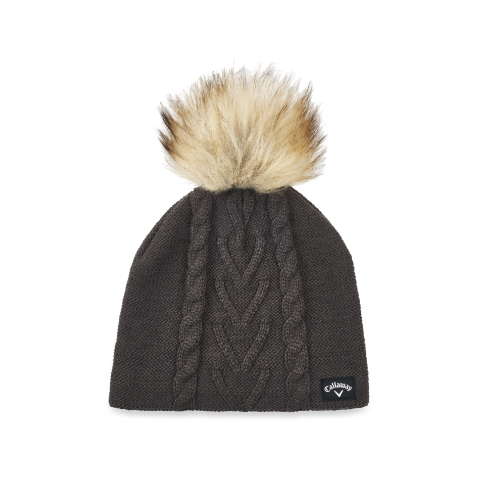 Women's Pom Pom Beanie - Featured