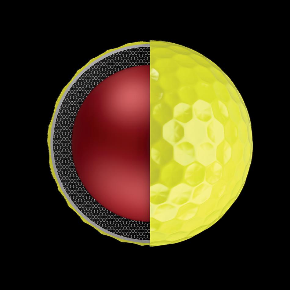 Chrome Soft Yellow 2018 Golf Balls - View 3