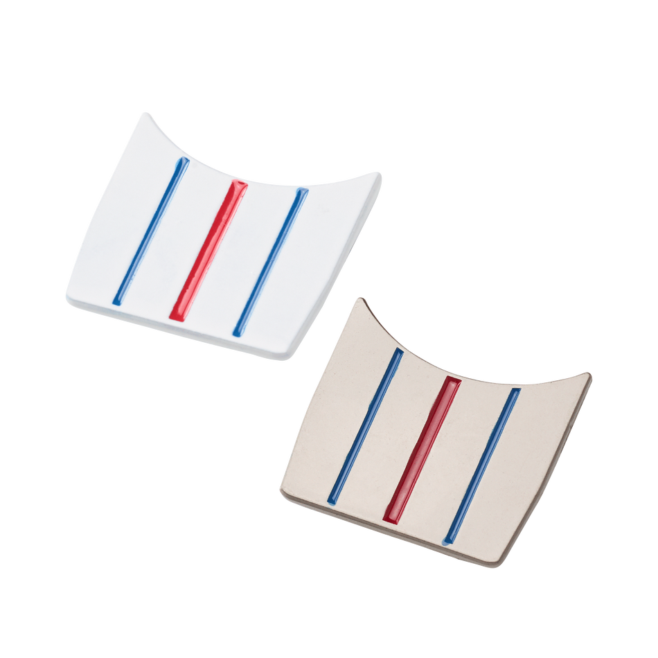 Triple Track Ball Markers 2-Pack - Featured