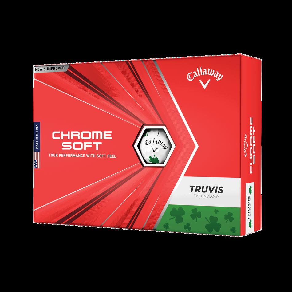 Chrome Soft Truvis Shamrock Golf Balls - View 1