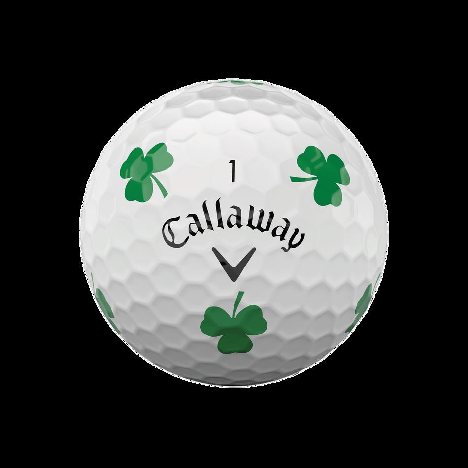 Chrome Soft Truvis Shamrock Golf Balls - View 3