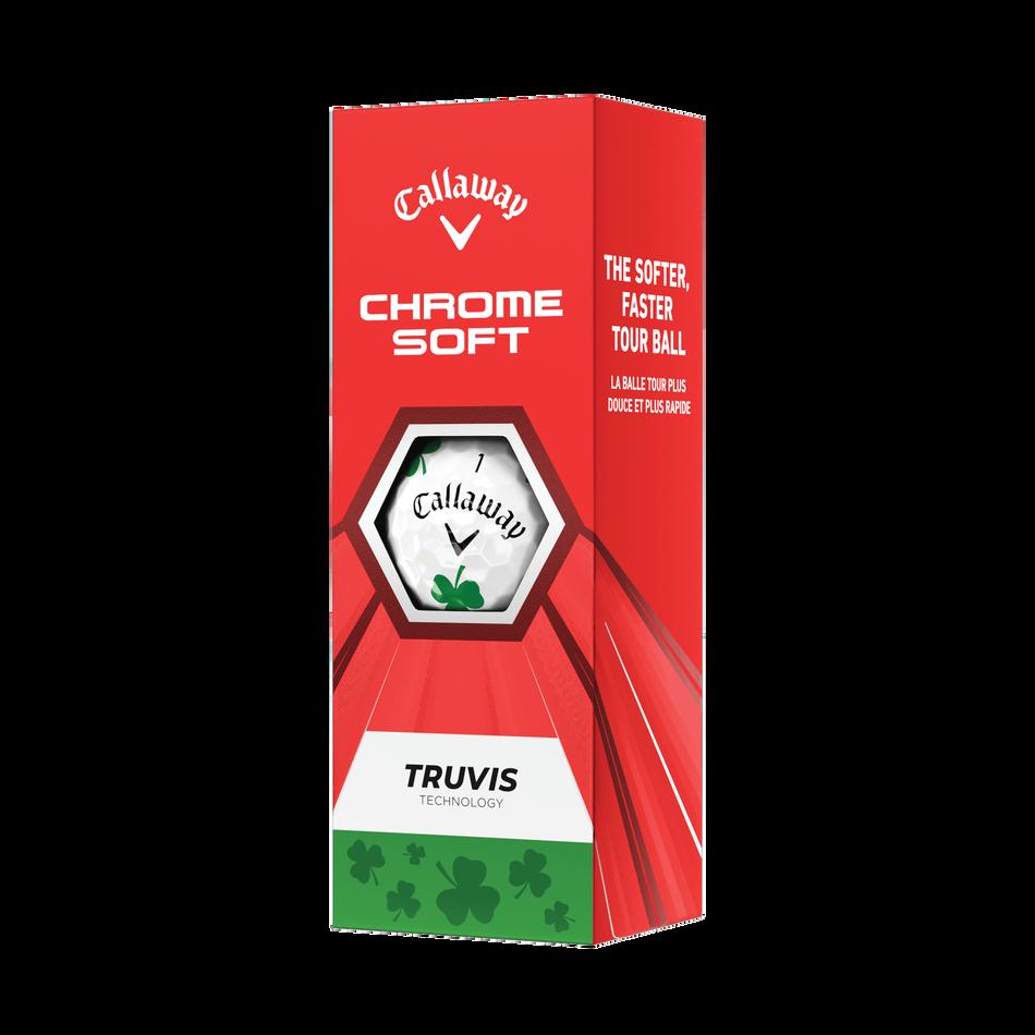 Chrome Soft Truvis Shamrock Golf Balls - View 4