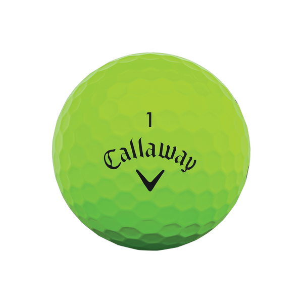 Callaway Supersoft Matte Green Golf Balls - View 3