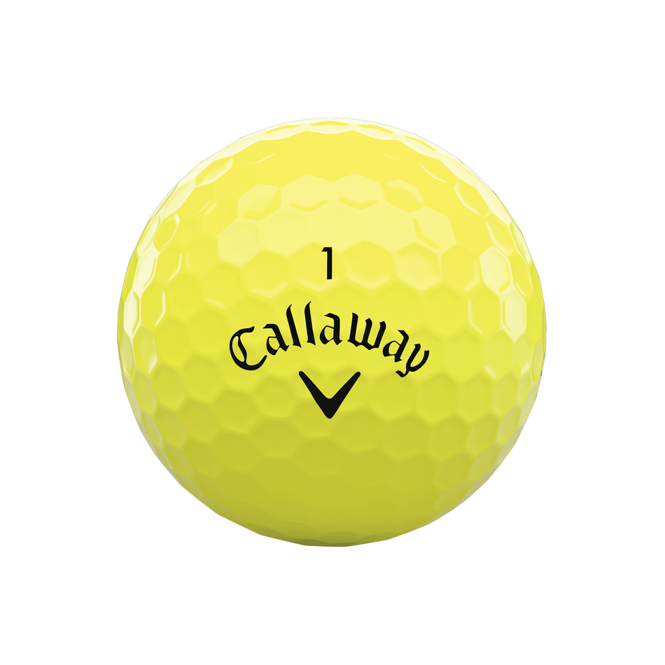 Warbird Yellow Golf Balls - View 3