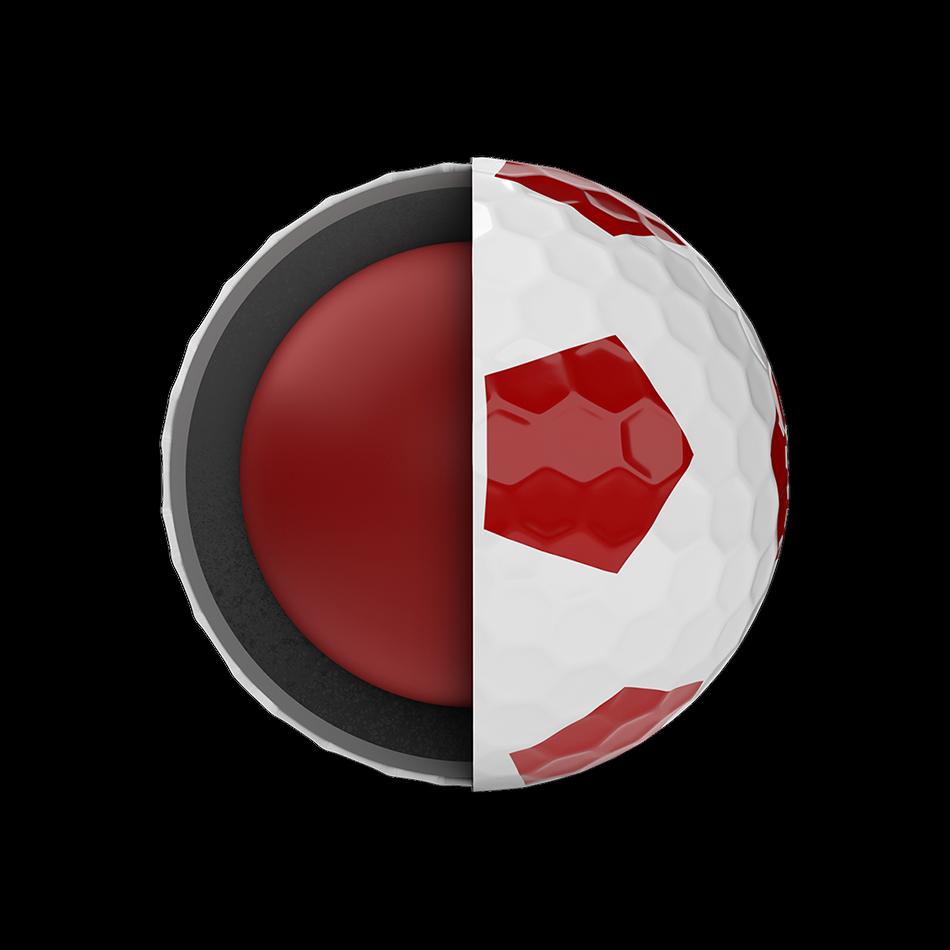 Chrome Soft Truvis Red Golf Balls - View 5