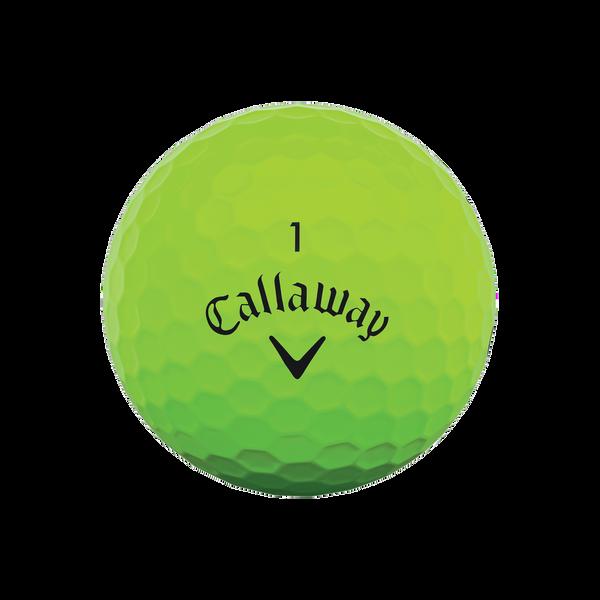 Callaway Supersoft Matte Green Golf Balls - View 3