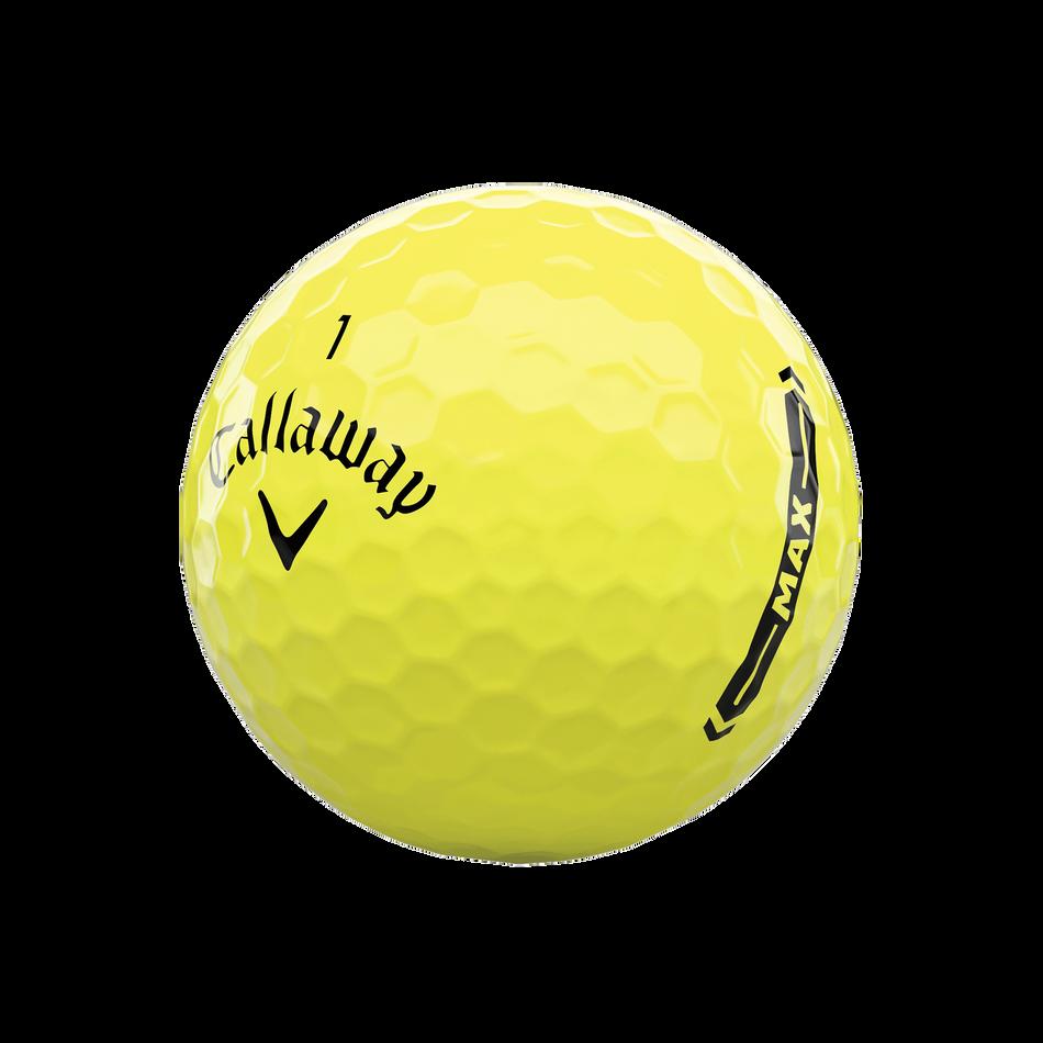 Callaway Supersoft MAX Yellow Golf Balls - View 4