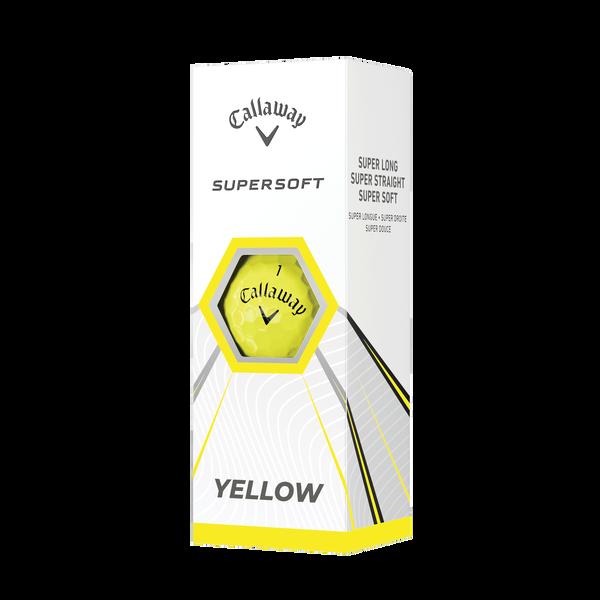 Callaway Supersoft Yellow Golf Balls - View 2