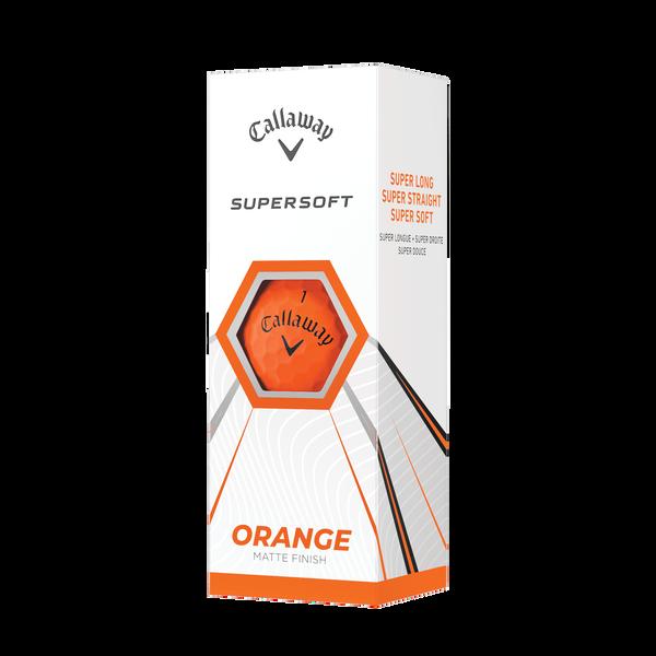 Callaway Supersoft Matte Orange Golf Balls - View 2