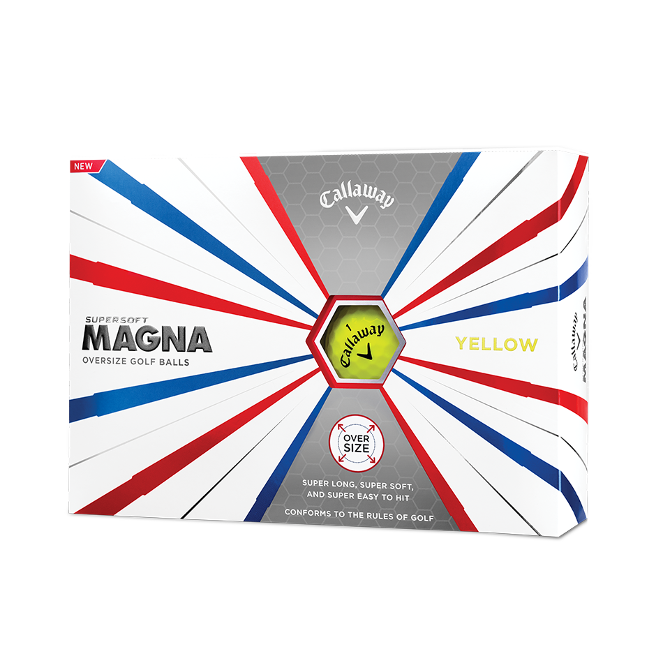 Balles de Golf Supersoft Magna Juane