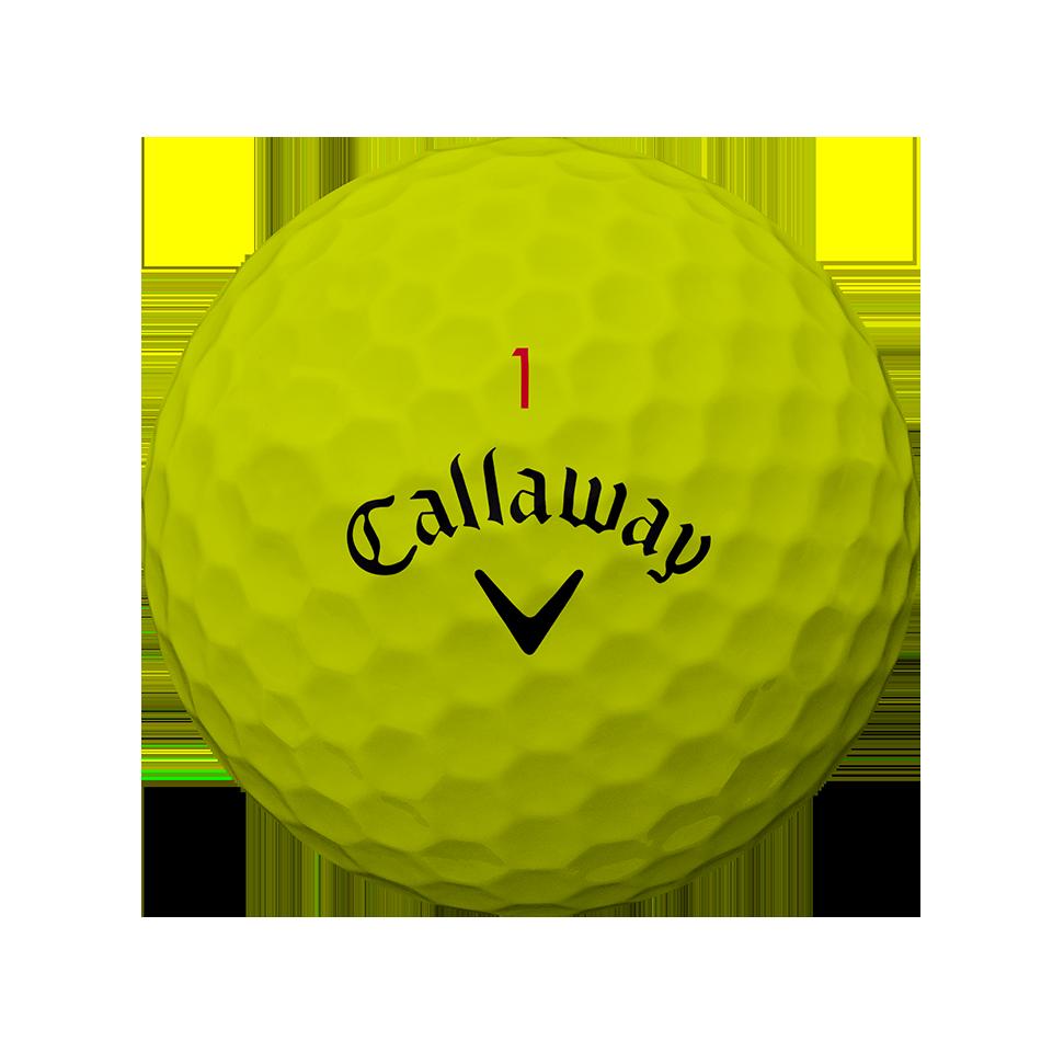 2018 Balle de Golf Chrome Soft Jaune - View 2