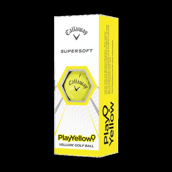 Balles de golf Play Yellow