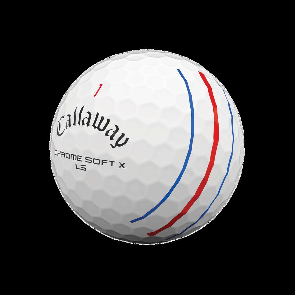 Balles de golf Chrome Soft X LS Triple Track - View 4