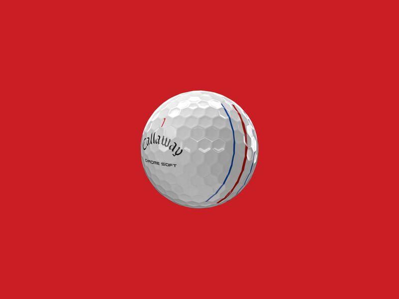 Balles de golf Chrome Soft Triple Track - Featured