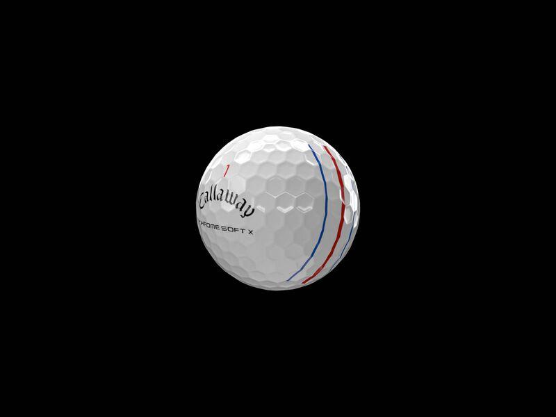 Balles de golf Chrome Soft X Triple Track - Featured