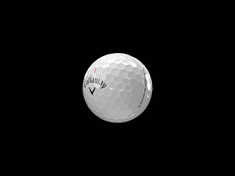 Balles de golf Chrome Soft X - Featured