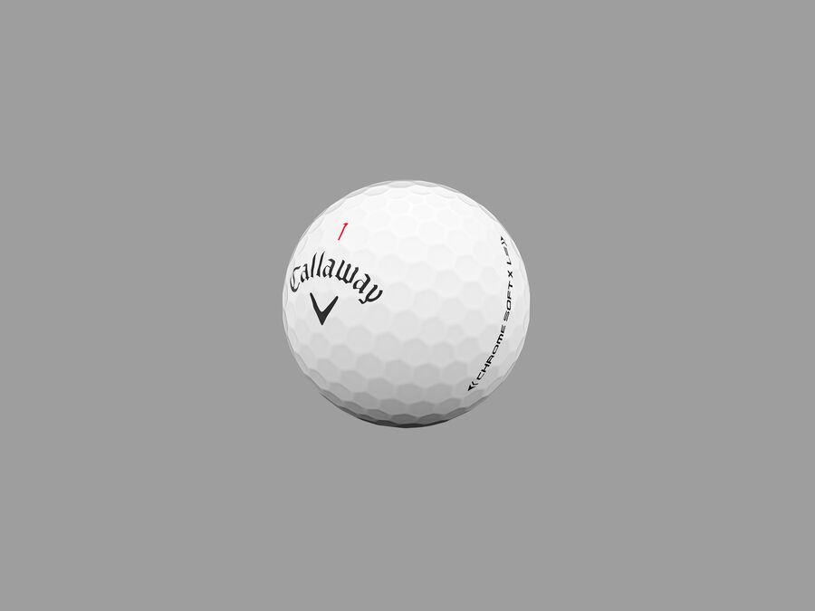 Balles de golf Chrome Soft X LS - Featured
