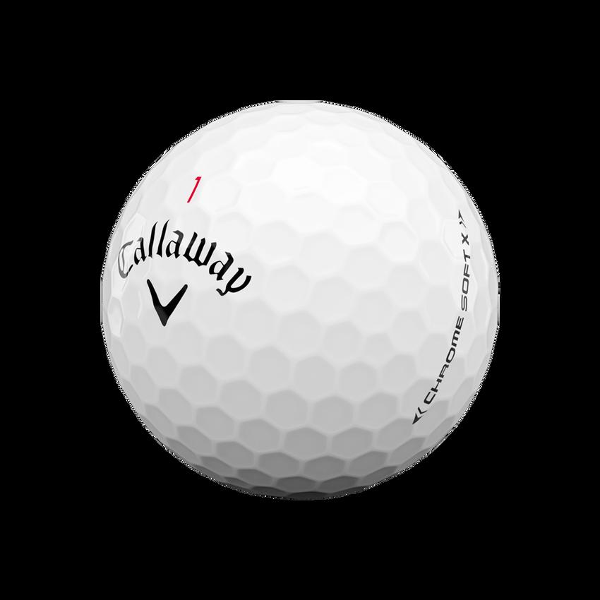Balles de golf Chrome Soft X - View 4