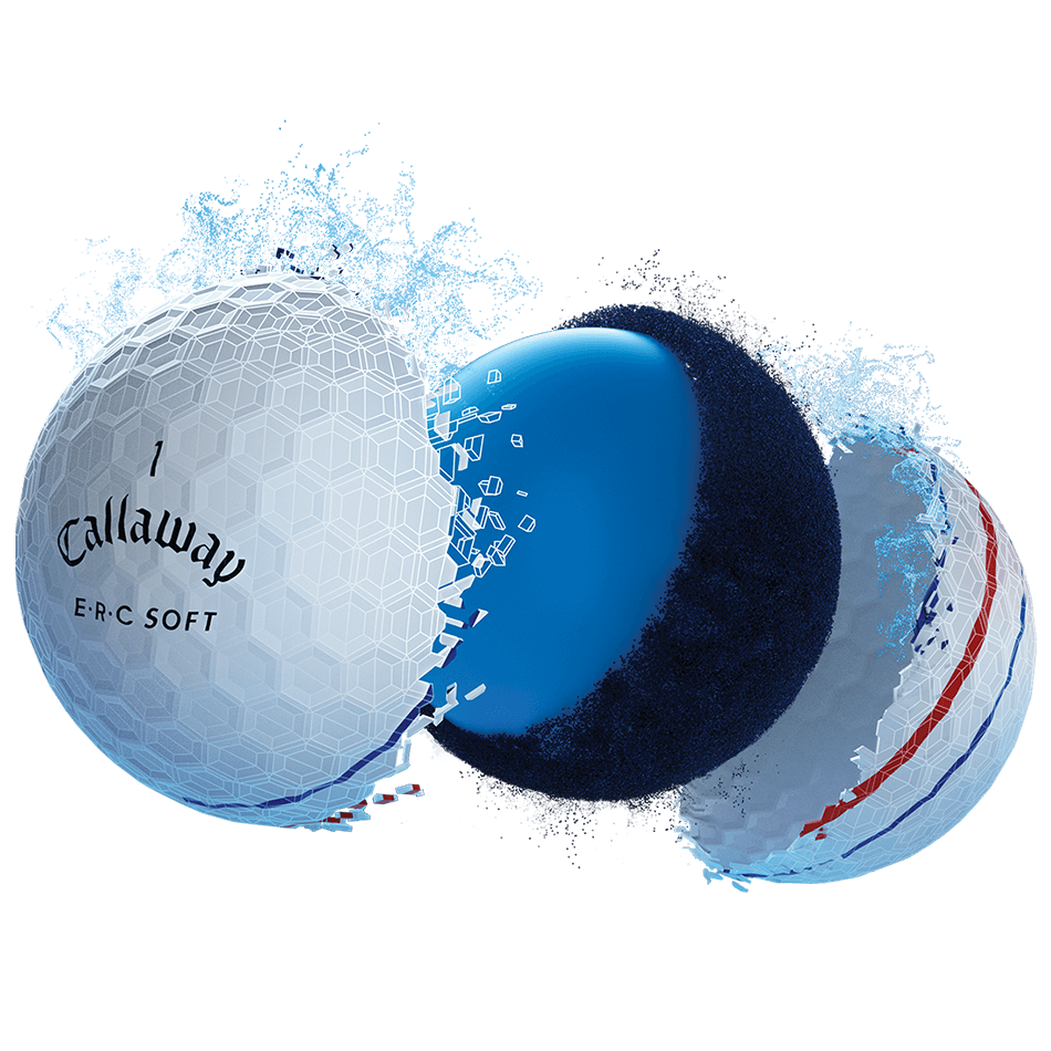ERC Soft Golf Balls Technology Item