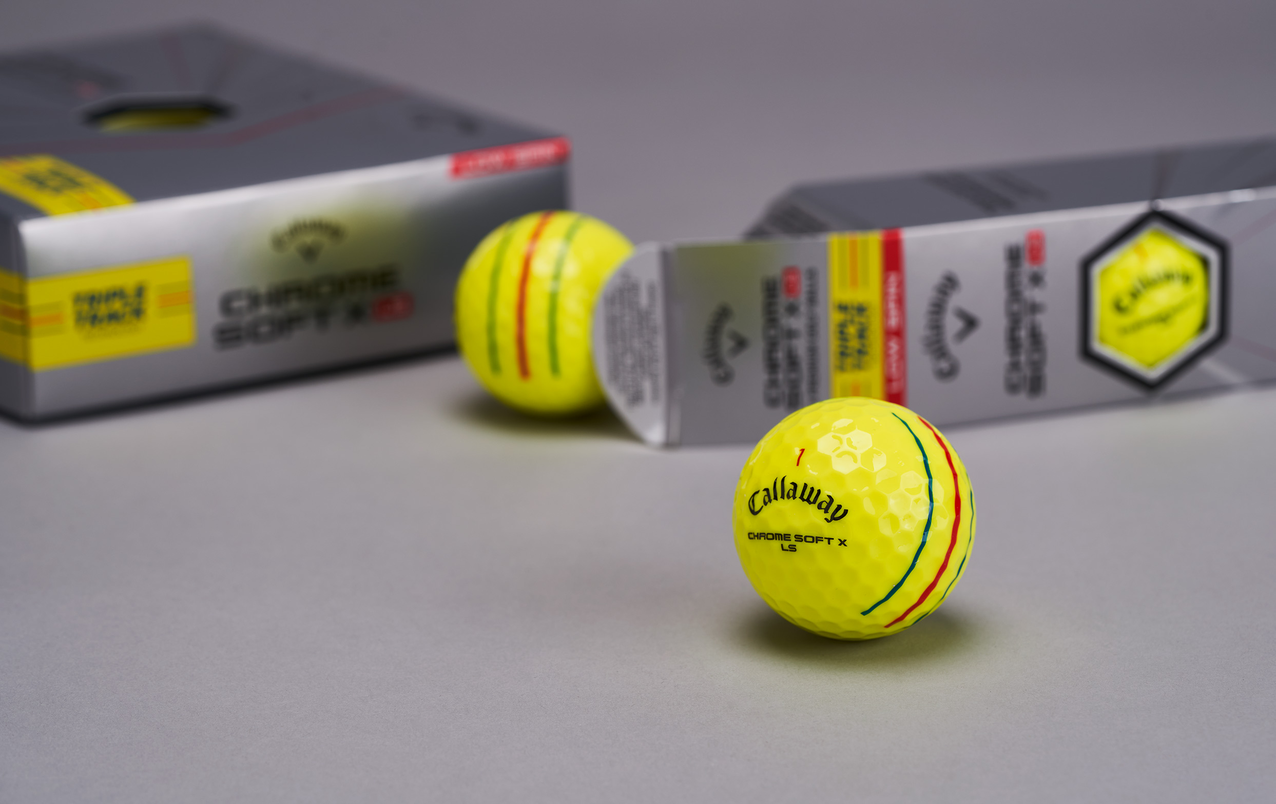 Chrome Soft Golf Ball Family