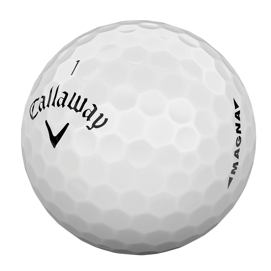 Introducing Supersoft Magna Golf Balls illustration