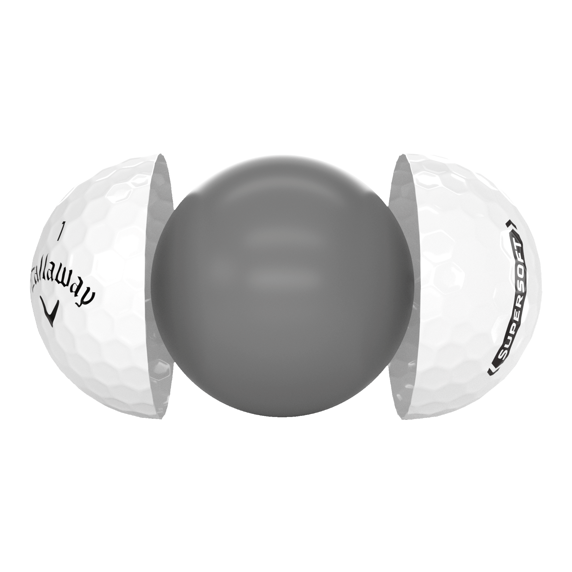 Introducing Callaway Supersoft Golf Ball illustration